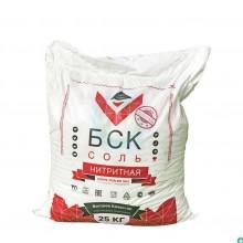 """Соль нитритная экстра, нитритно-посолочная смесь, 25 кг, ТМ """"БСК"""", NaN02 0.6% (БСК)"""